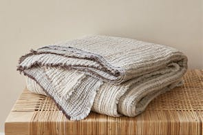 Divine Throw Range by Baksana - Beige