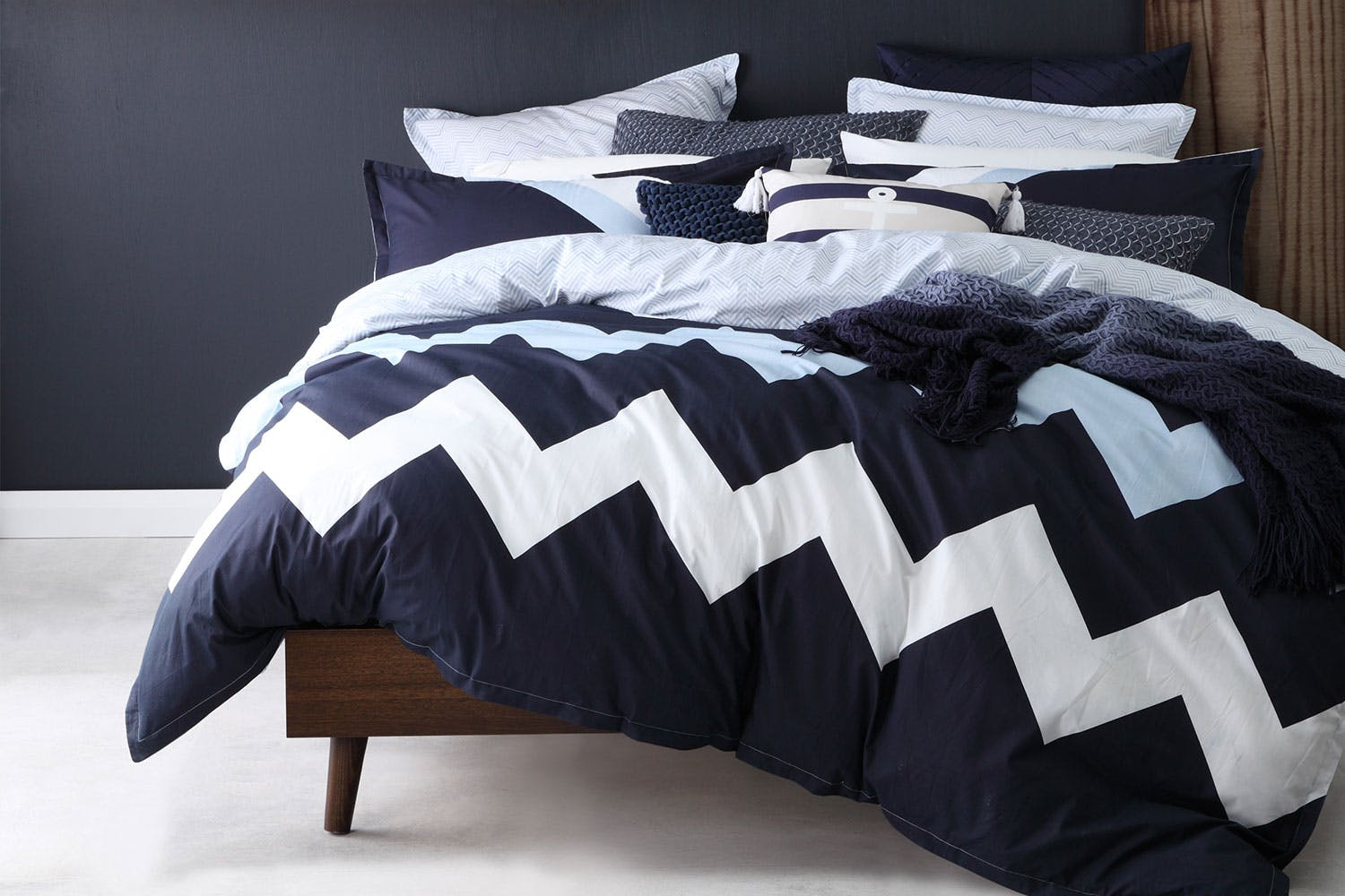 bedroom navy velvet home republic duvet zoom save covers coverlet quilt cover cotton coverlets