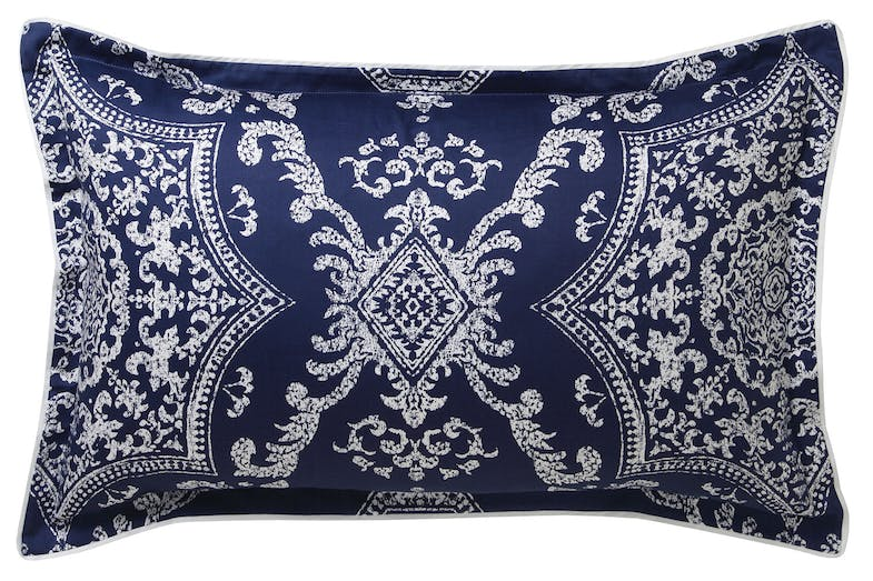 Medallion Indigo Duvet Cover Set by Florence Broadhurst - Pillowcase