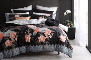 Nobu Ink Duvet Cover Set by Logan and Mason
