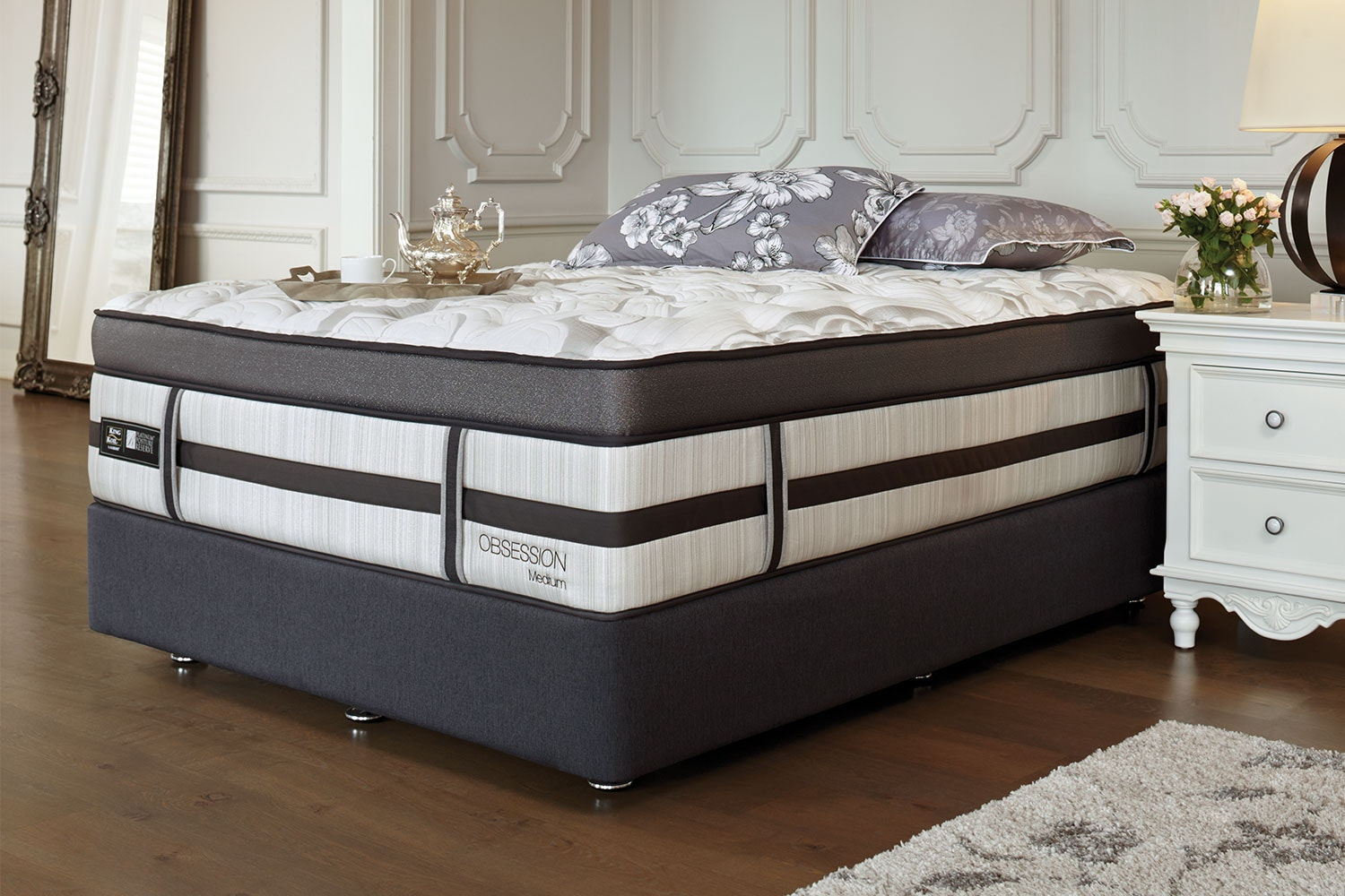 Obsession Medium King Bed by King Koil