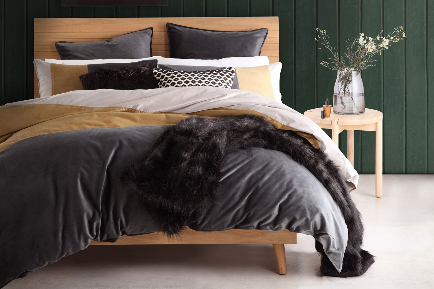Parker Mineral Duvet Cover Set by Platinum Collection