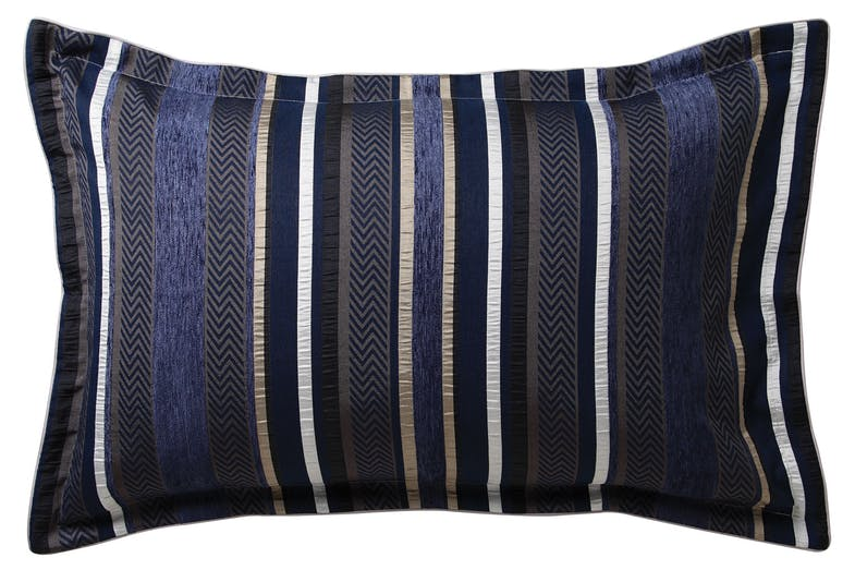 Pierson Navy Duvet Cover Set by Private Collection - Pillowcase