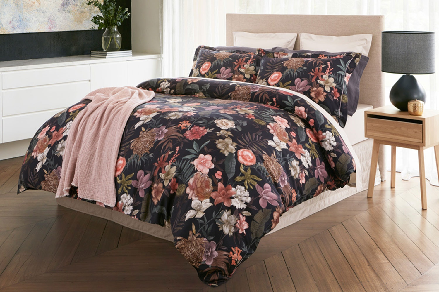 Secret Garden Duvet Cover Set by Baksana