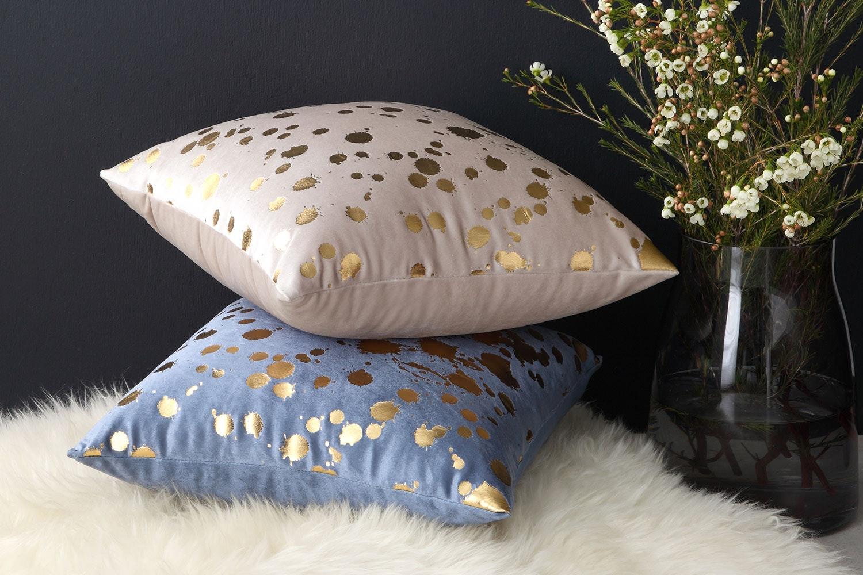 Spritz Square Cushion by Logan and Mason