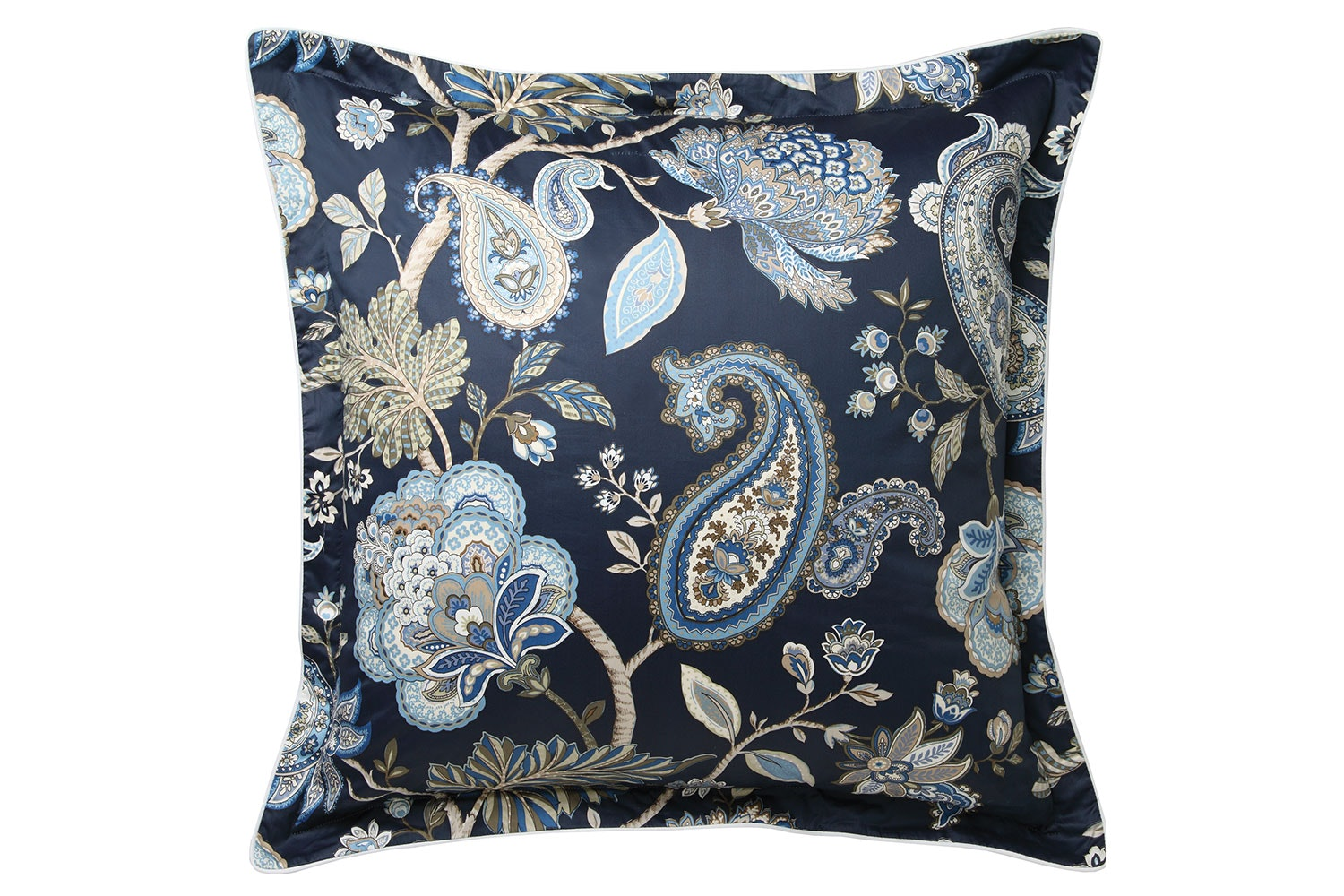 Toorak Navy Duvet Cover Set by Private Collection - European Pillowcase