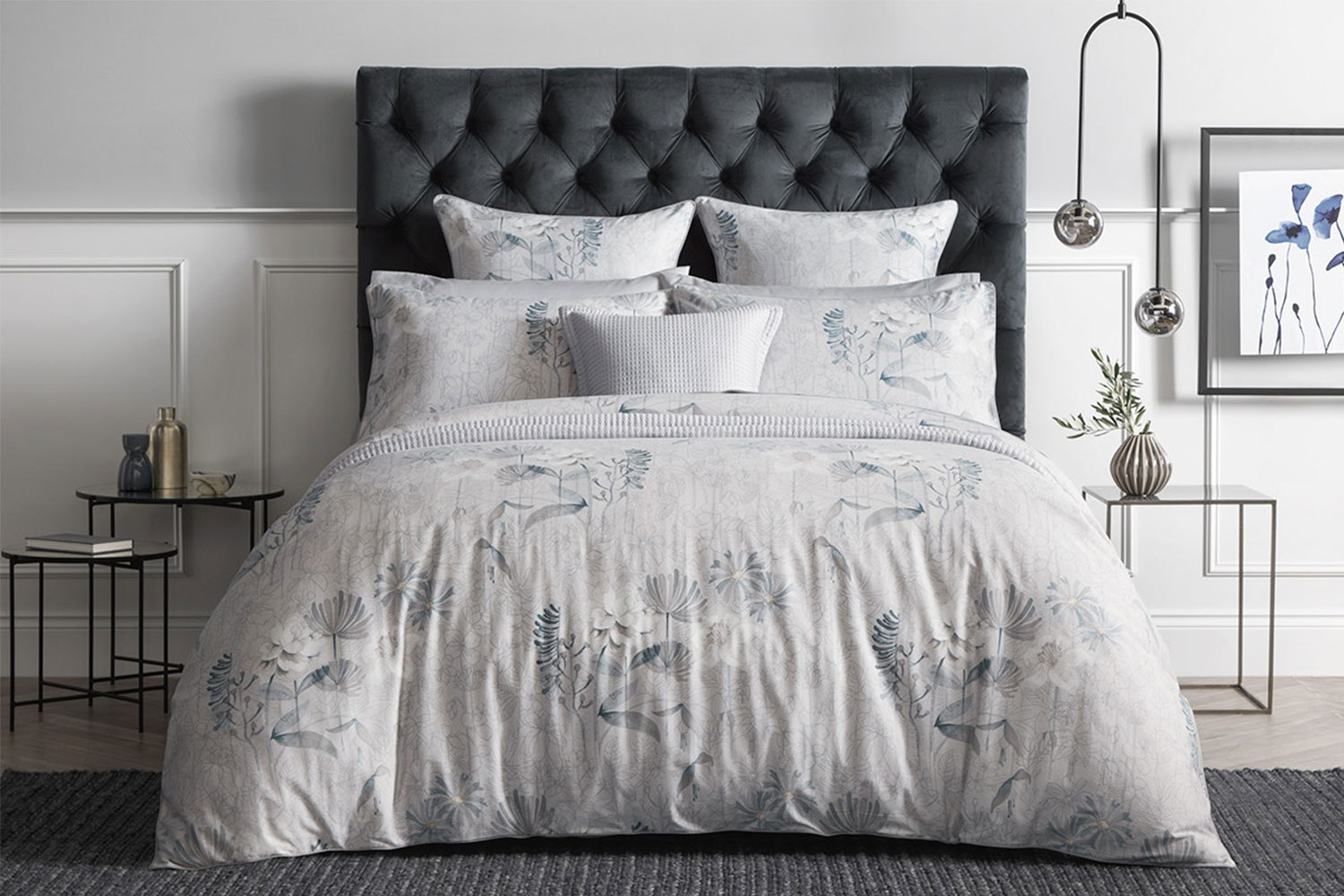 Eddings Light Stone Duvet Cover Set by Sheridan