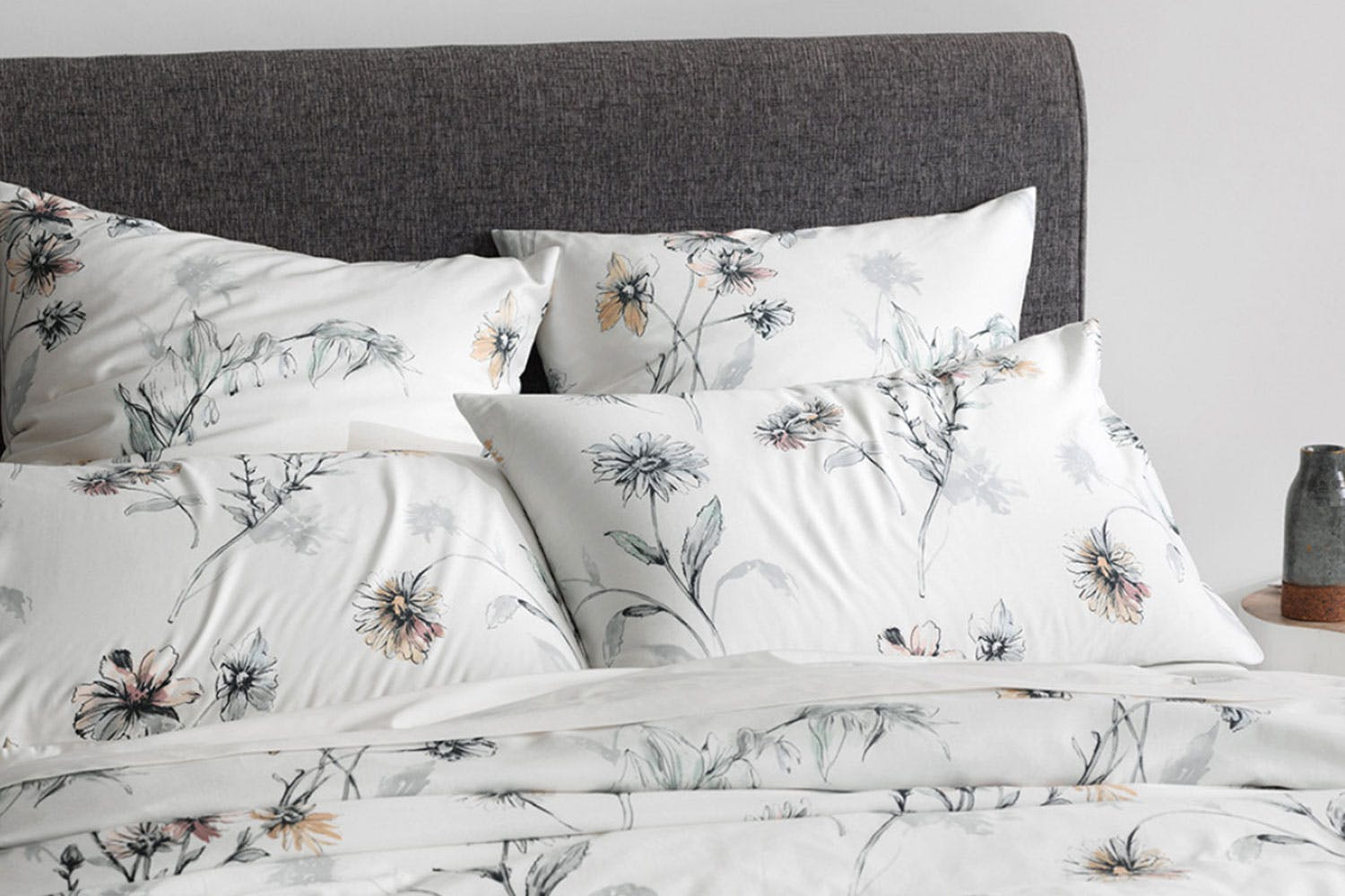 Fernvale White Duvet Cover Set By Sheridan Harvey Norman New