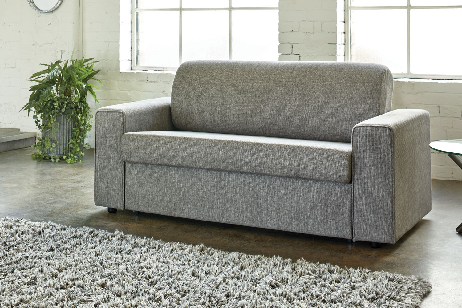 Kansas Bulk Grade Fabric Sofa Bed by Evan John Philp