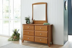 Lynbrook 6 Drawer Dresser and Mirror by Coastwood Furniture