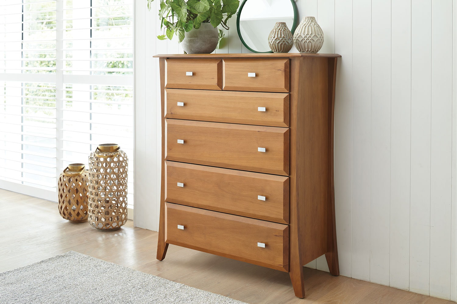 Lynbrook 6 Drawer Tallboy by Coastwood Furniture