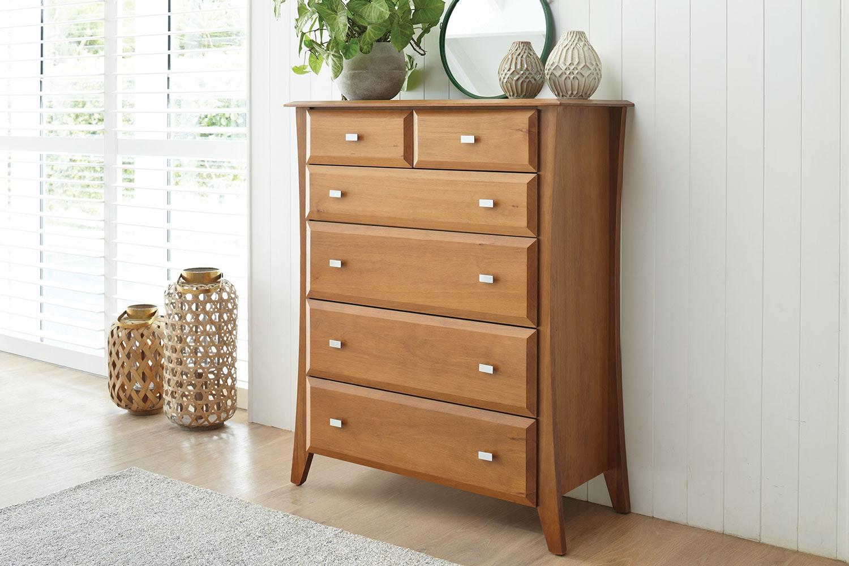 Lynbrook 6 Drawer Tallboy by Coastwood Furniture