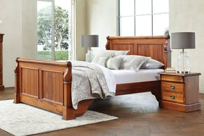 Clevedon Queen Bed Frame by Woodpecker Furniture