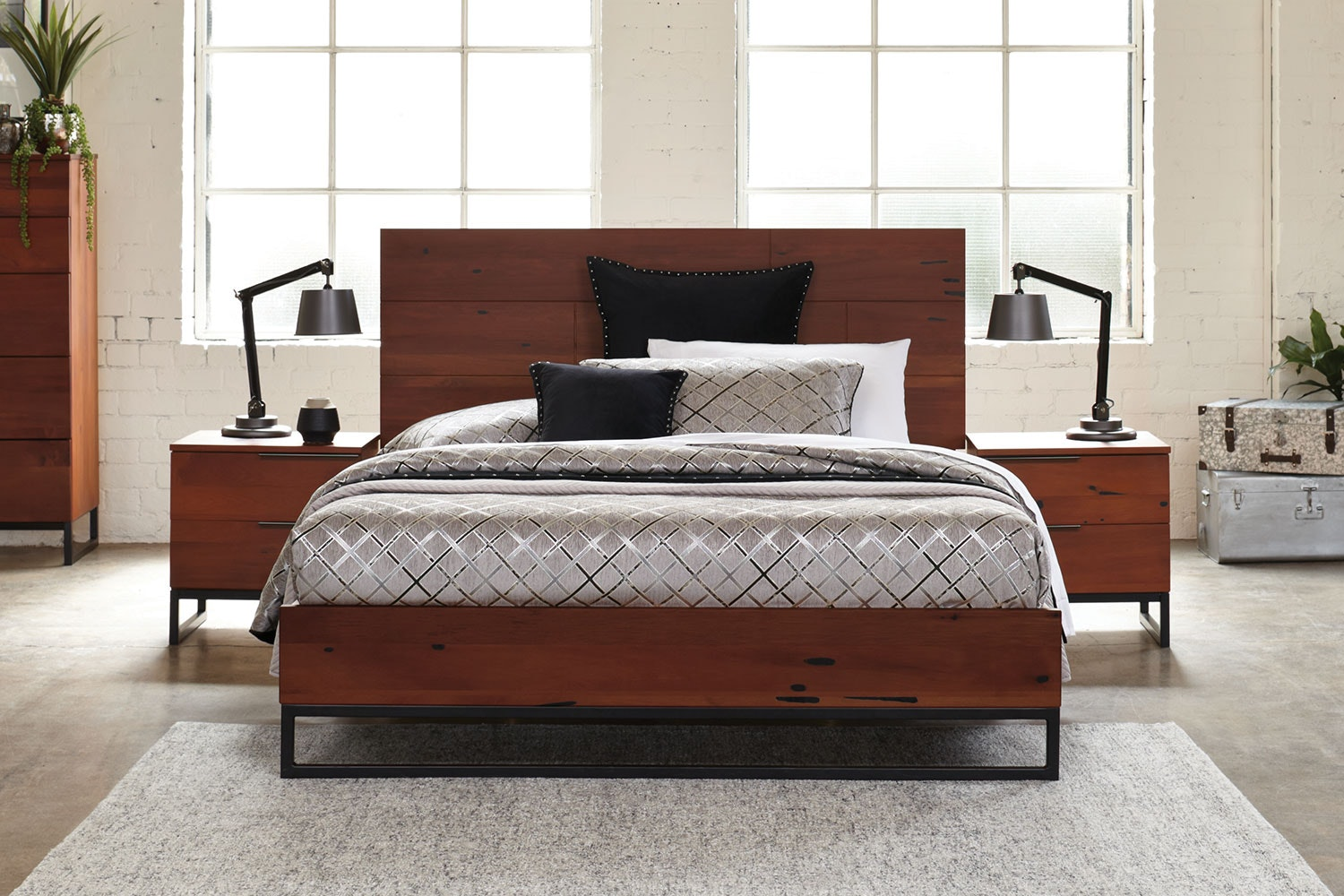 Matai Bay Queen Bed Frame by Sorensen Furniture