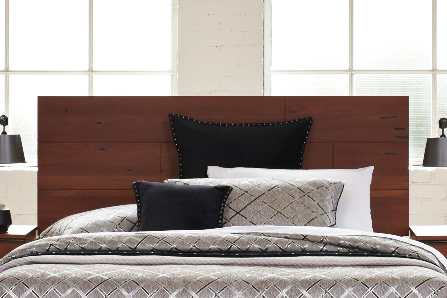 Matai Bay Queen Bed Frame by Sorensen Furniture - Headboard