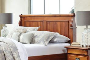 Clevedon Queen Headboard by Woodpecker Furniture
