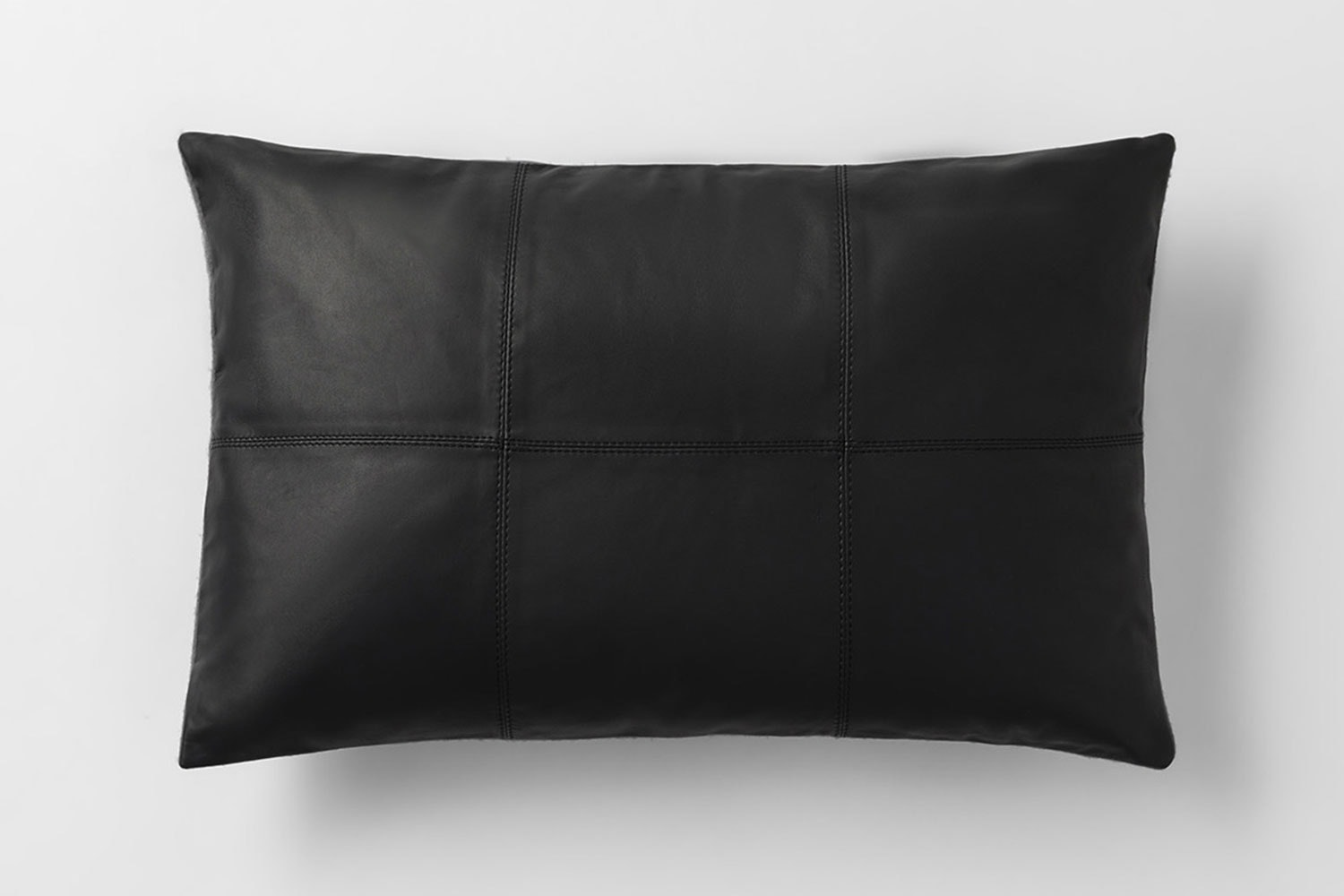 Rossmore Leather Cushion by Sheridan