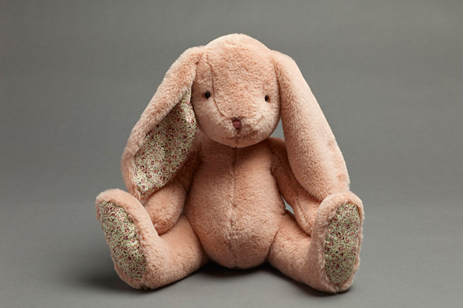 Woodlands Pink Plush Bunny by Jiggle and Giggle