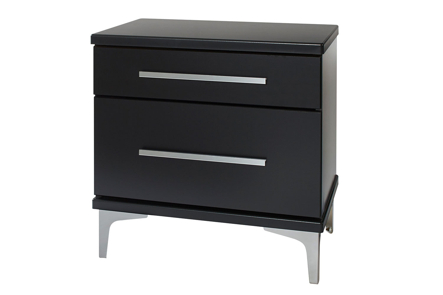 Modello 2 Drawer Bedside Table by Platform 10