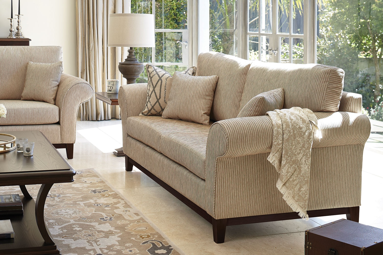 Edwardian 2 Seater Fabric Sofa by Evan John Philp