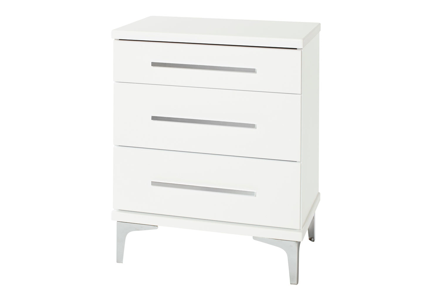 Salento 3 Drawer Tall Bedside Table by Platform 10