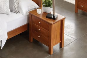 Riversdale Bedside Table by Marlex Furniture