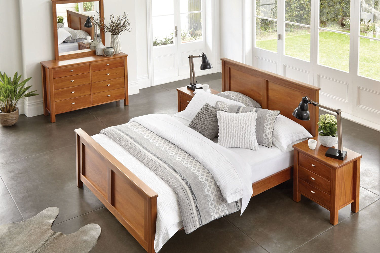 Riversdale 4 Piece Bedroom Suite by Marlex Furniture