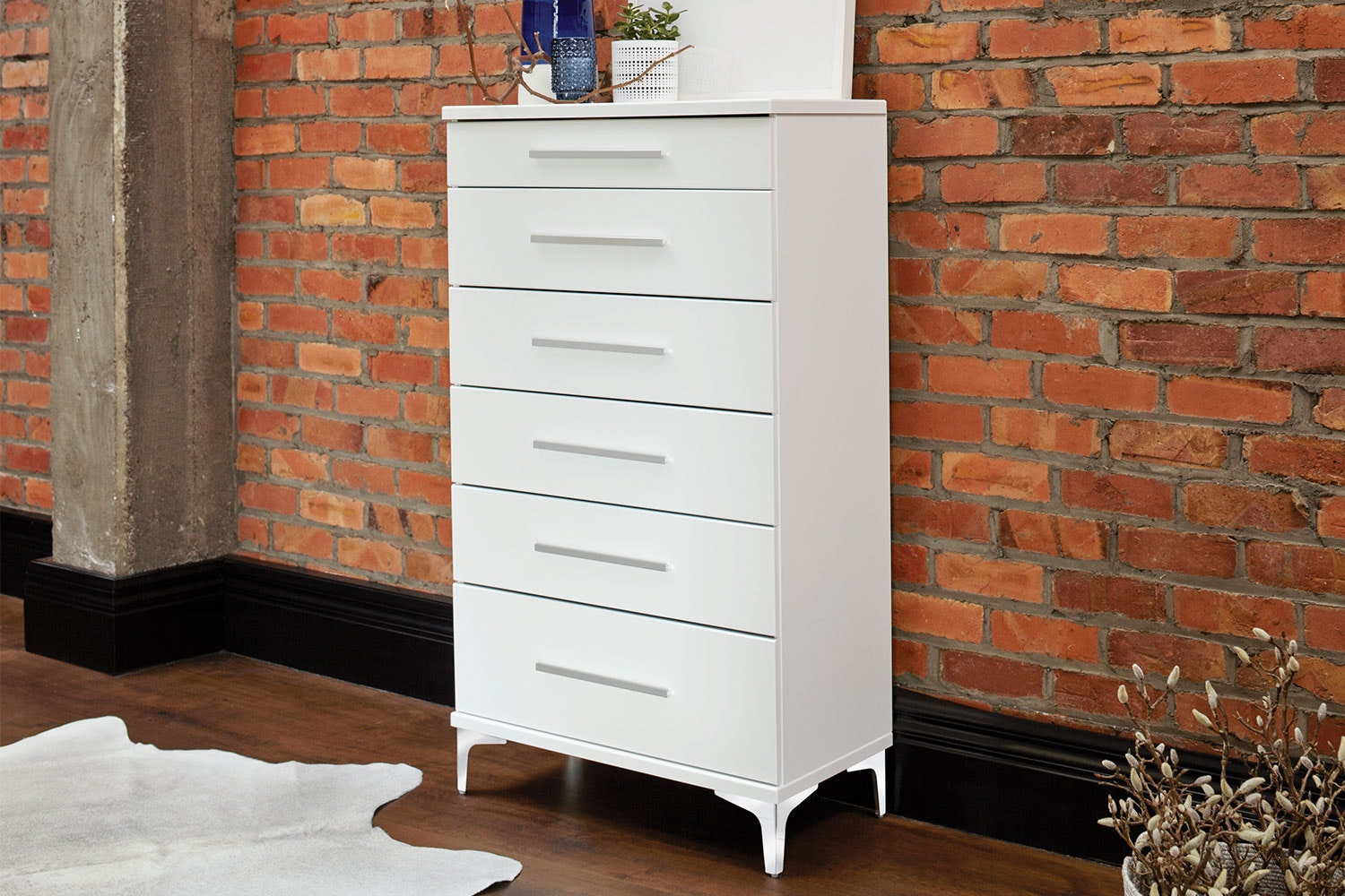 Salento 6 Drawer Tallboy by Platform 10