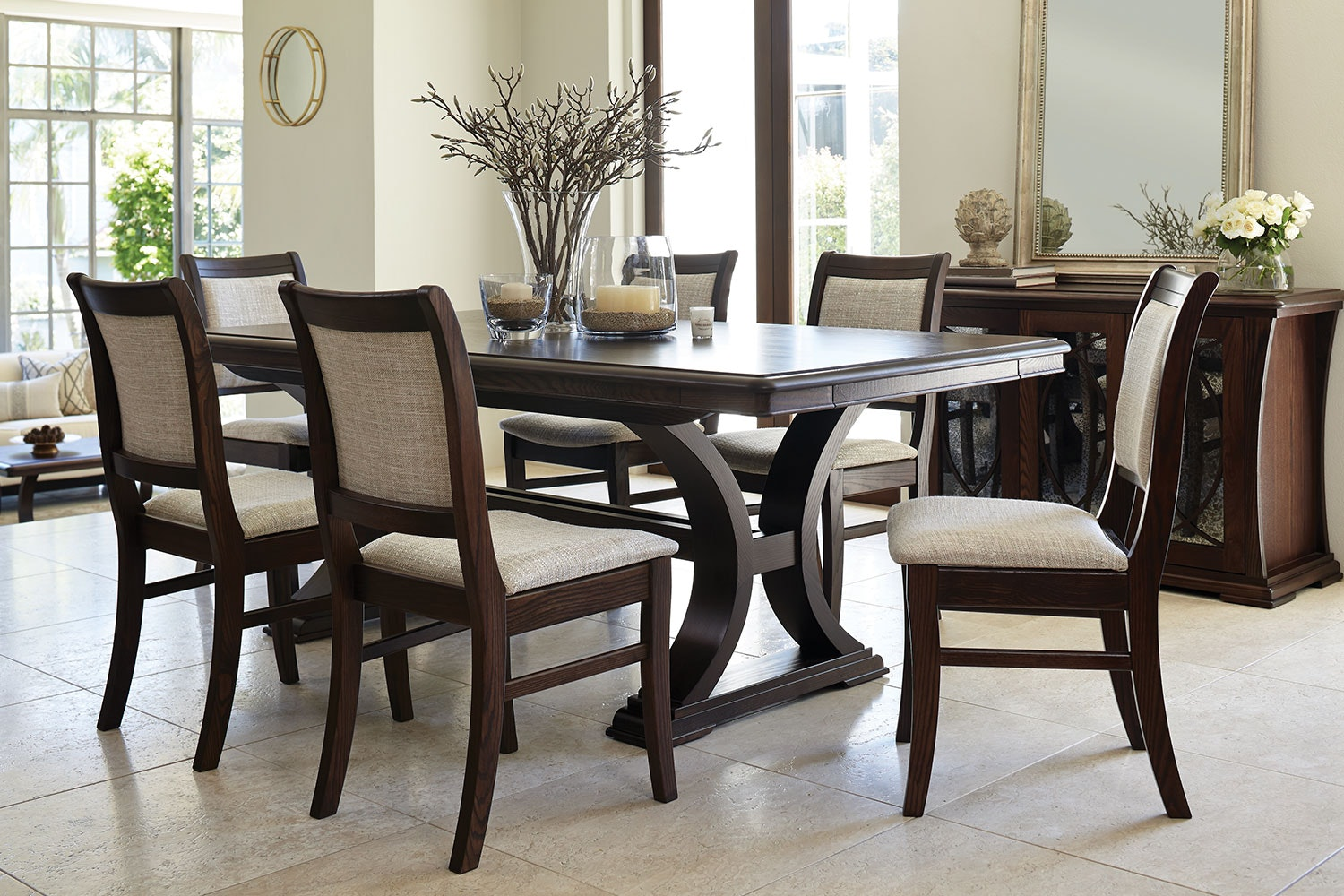 Vienna Luxe Dining Table by Sorenson Furniture