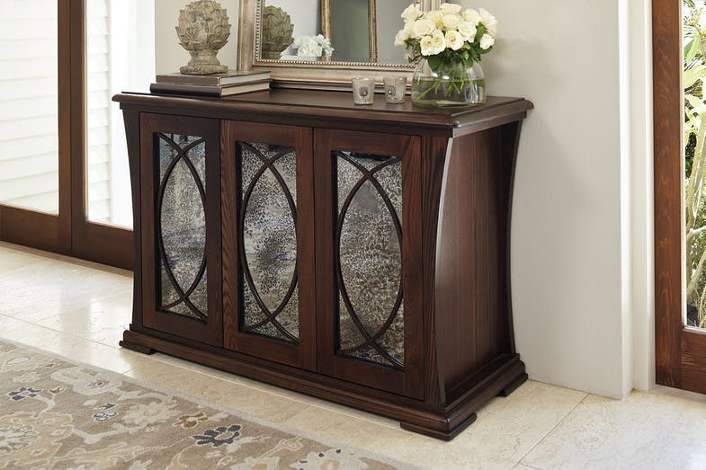 Vienna Luxe Antique 3-Drawer Buffet by Sorenson Furniture