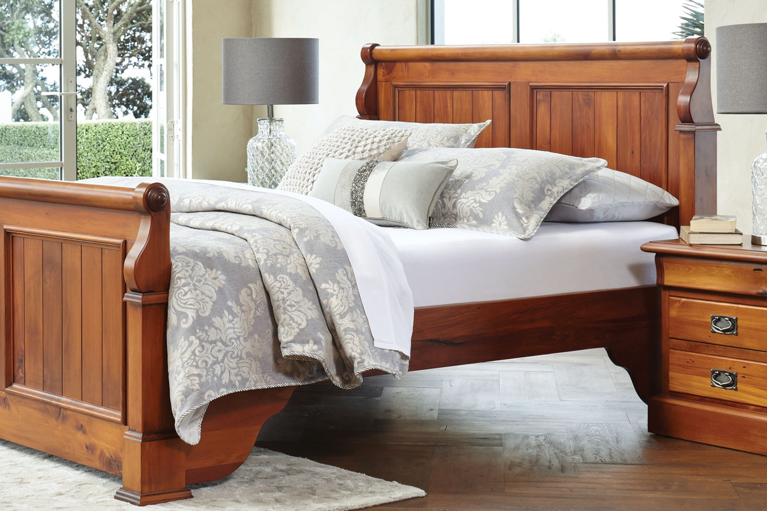 Cammeray Linen Duvet Cover Set by Da Vinci