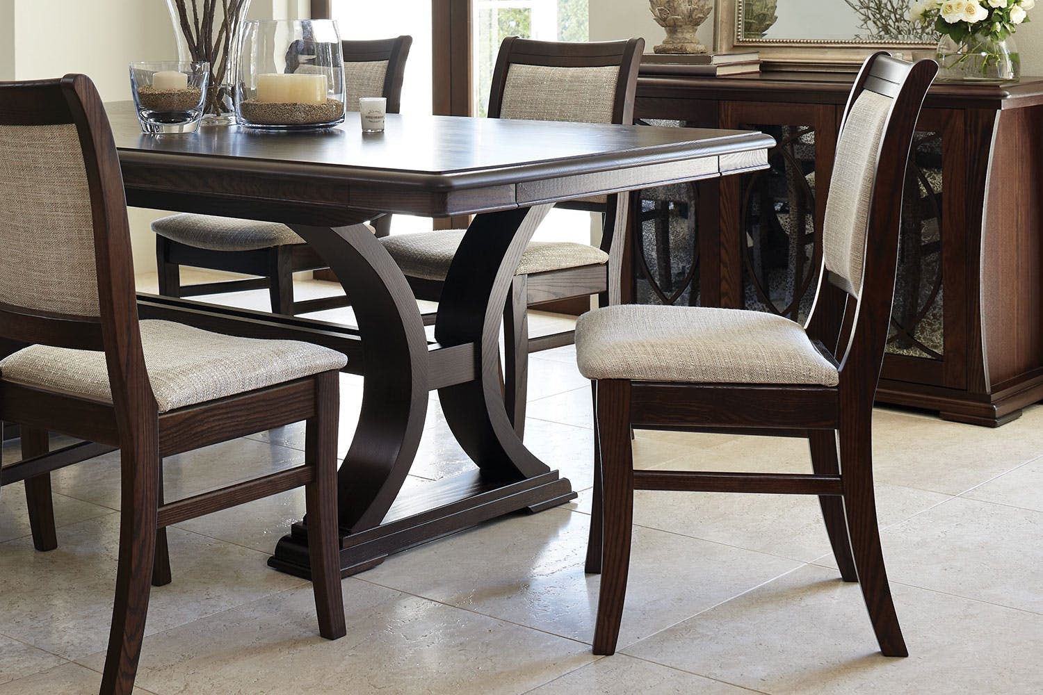 Vienna luxe dining chair by sorenson furniture harvey