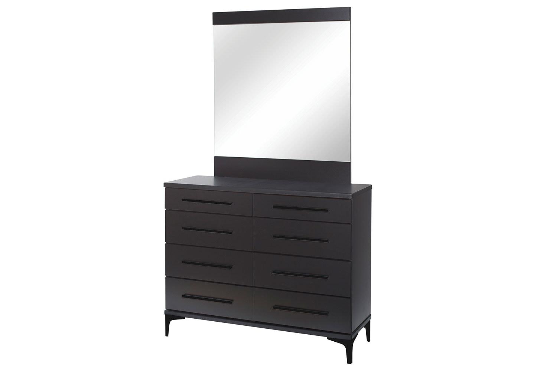 Modello Dresser and Mirror by Platform 10 - Black