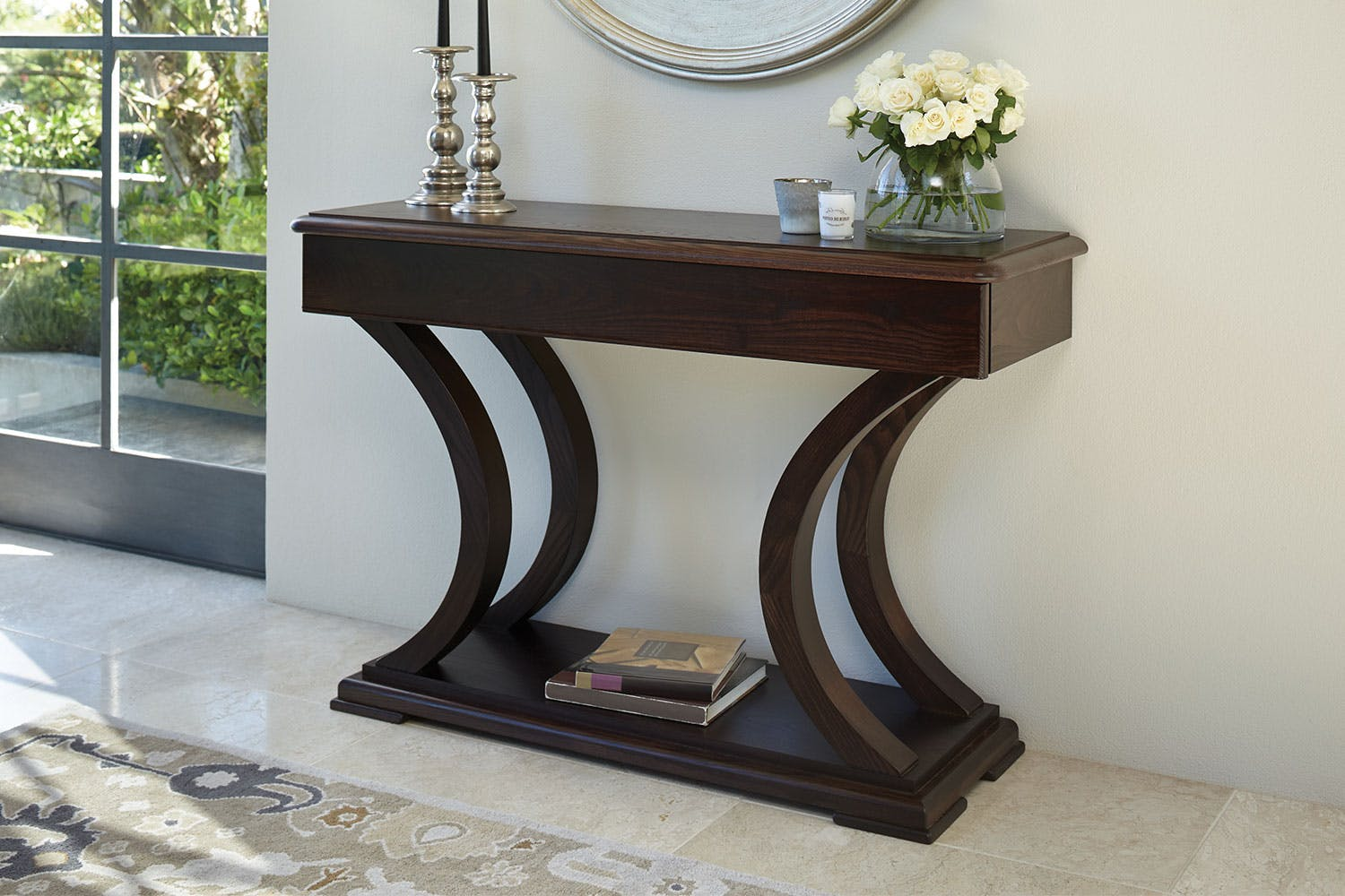 vienna luxe hall table by sorenson furniture harvey norman new zealand
