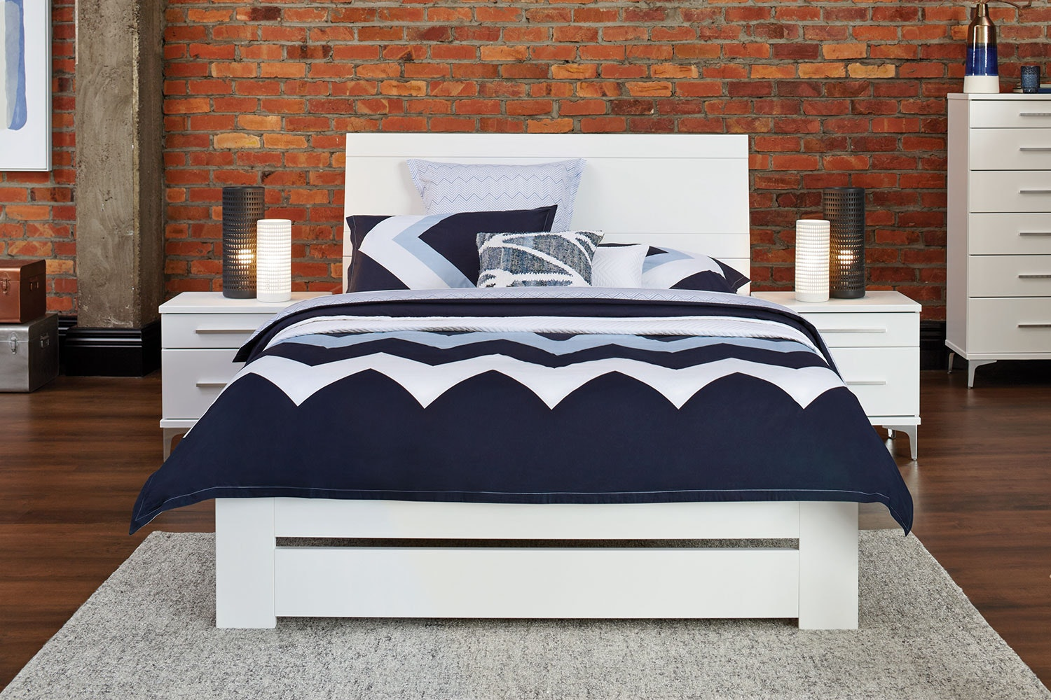 Salento Queen Bed Frame by Platform 10