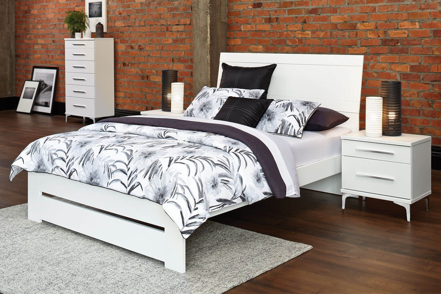 Salento Queen Bed Frame by Compac Furniture