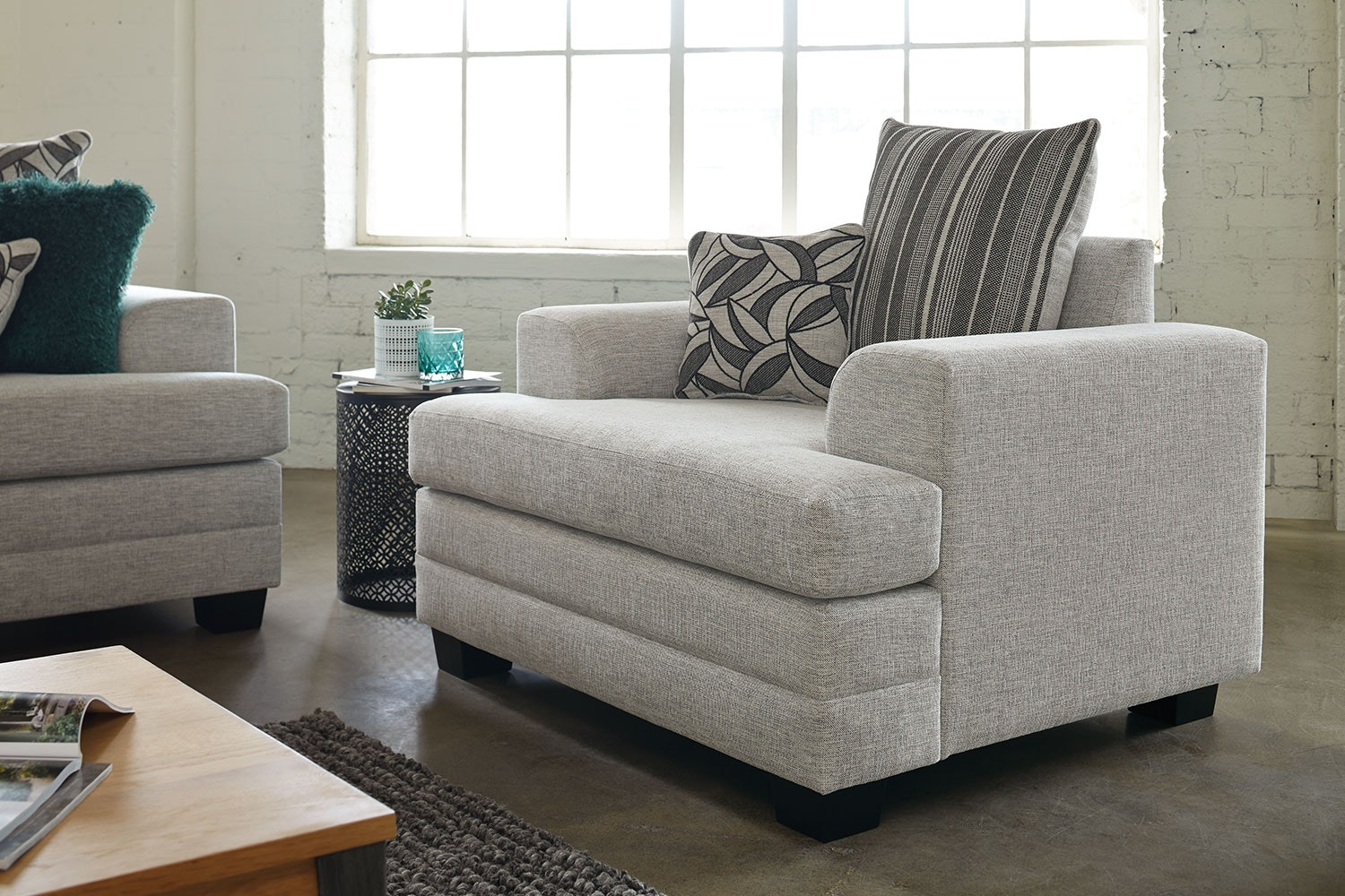 Evolution Fabric Armchair by White Rose Furniture