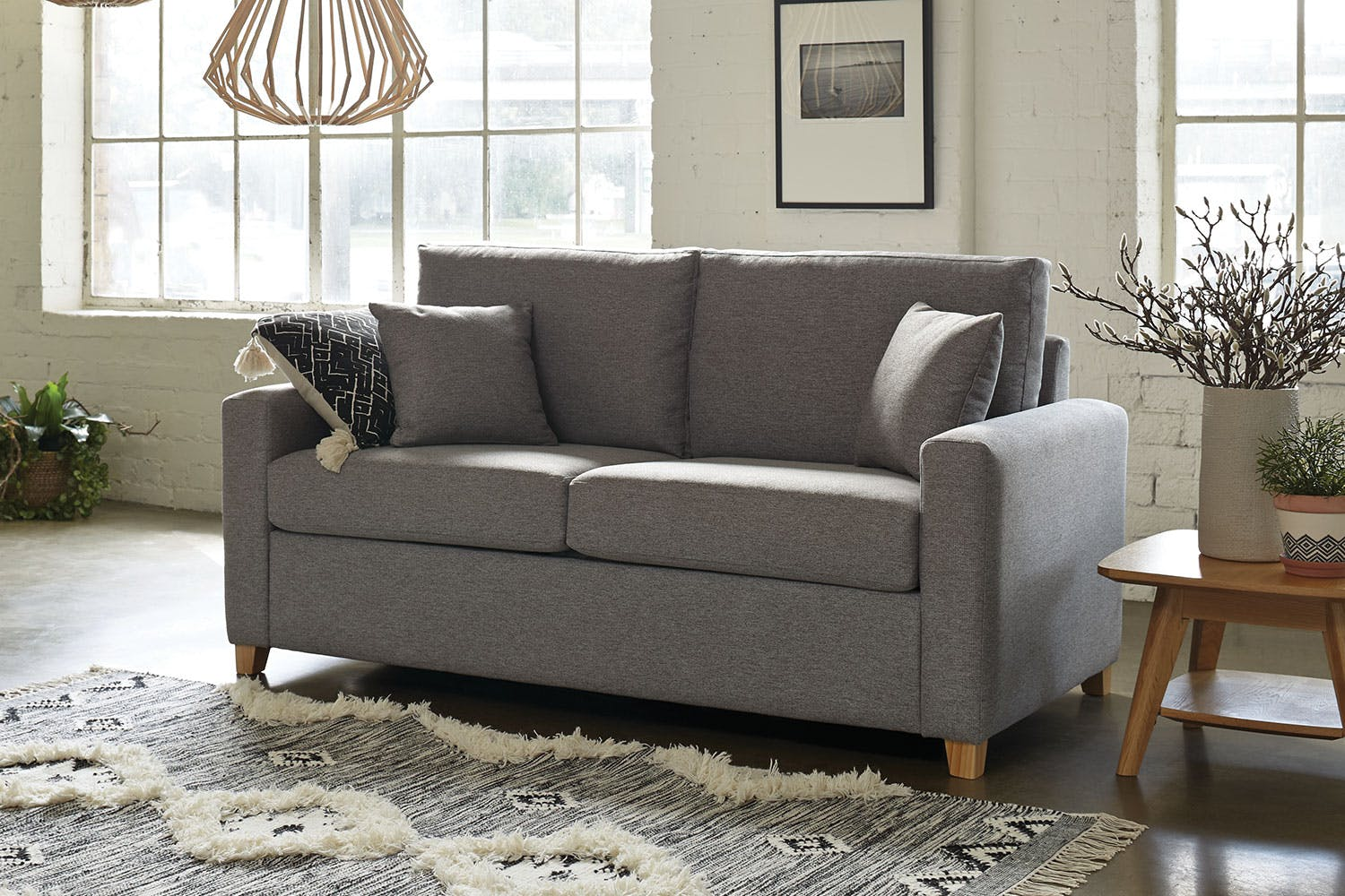 Taylor Fabric Sofa Bed By Evan John Philp