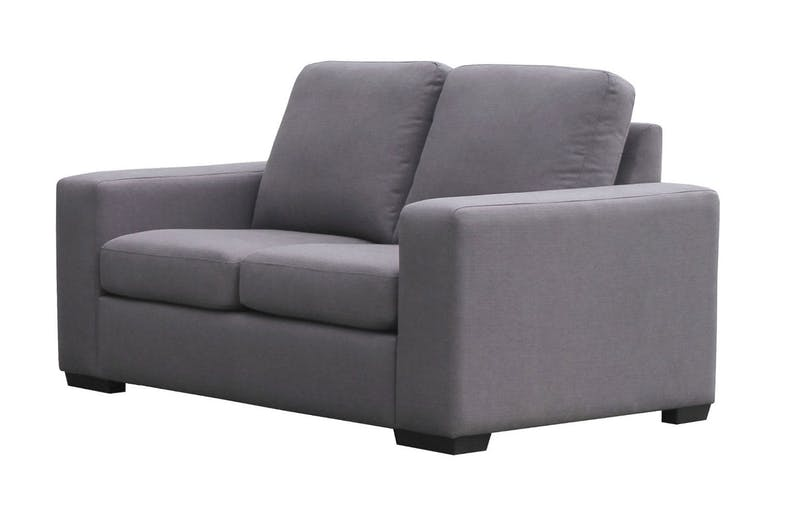 Neptune 2 Piece Fabric Lounge Suite - 2 seater sofa