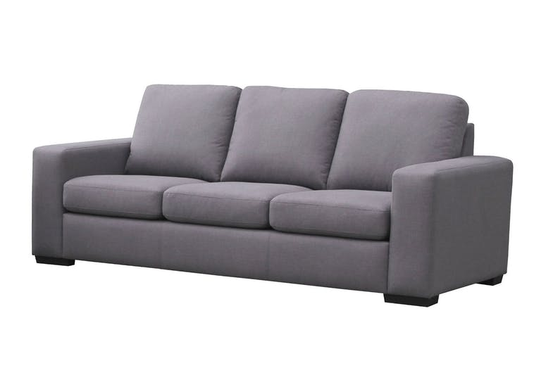 Neptune 2 Piece Fabric Lounge Suite - 3 seater sofa