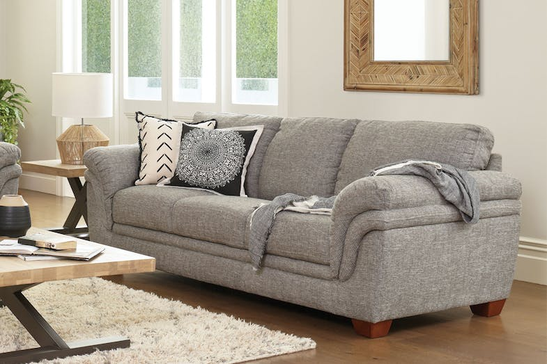Demi 3 Seater Fabric Sofa by La-Z-Boy