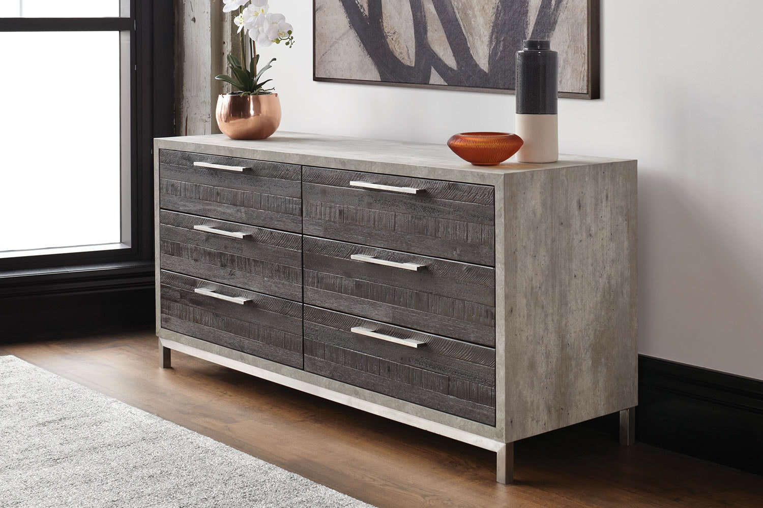 Faro 6 Drawer Lowboy by Morgan Furniture