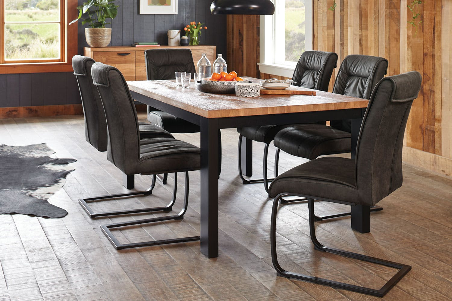Indiana 7 Piece Dining Suite By Paulack Furniture Harvey Norman
