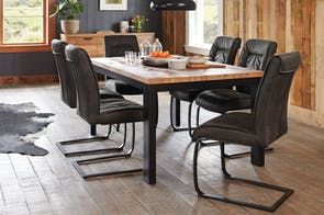 Indiana 7 Piece Dining Suite by Paulack Furniture