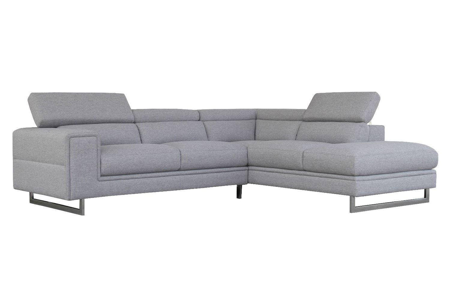 Laguna 2 Seater Fabric Sofa with Chaise