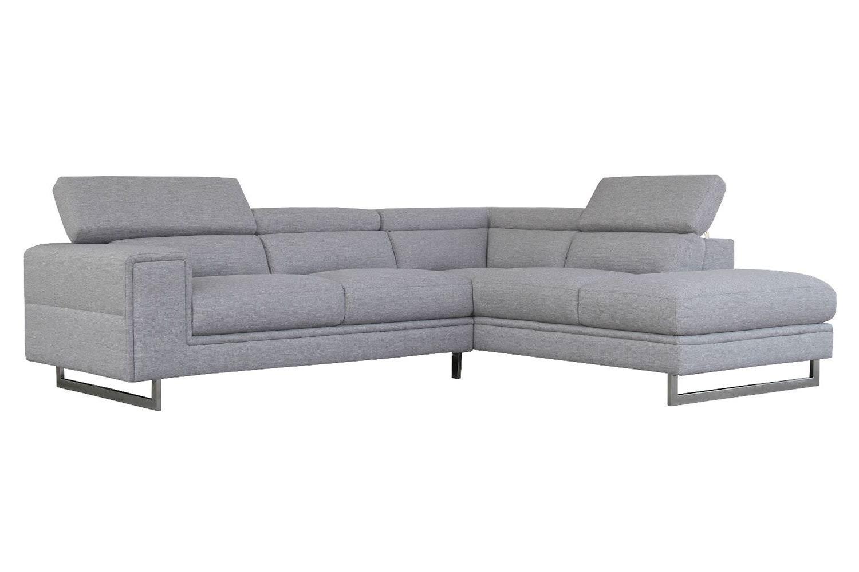 Laguna 2 Seater Fabric Sofa With Chaise