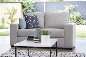 Neptune 2 Seater Fabric Sofa