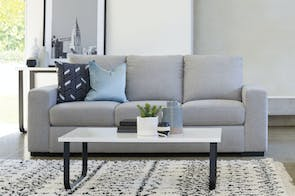 Neptune 3 Seater Fabric Sofa