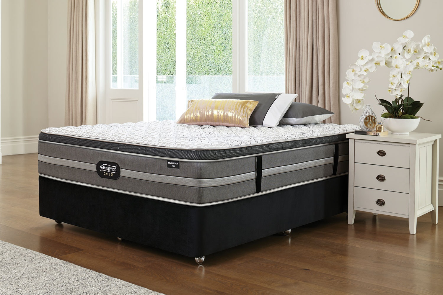 Revolution Firm Queen Bed by Beautyrest