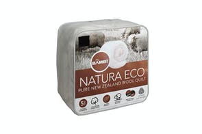 Natura Eco NZ Wool 500gsm Duvet Inner by Bambi